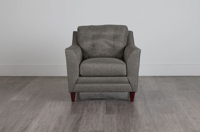 Jensen Dark Gray Fabric Chair (0)
