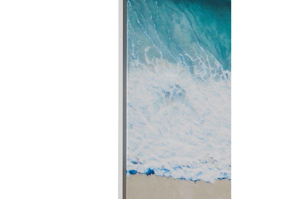 Shore Light Beige Canvas Wall Art