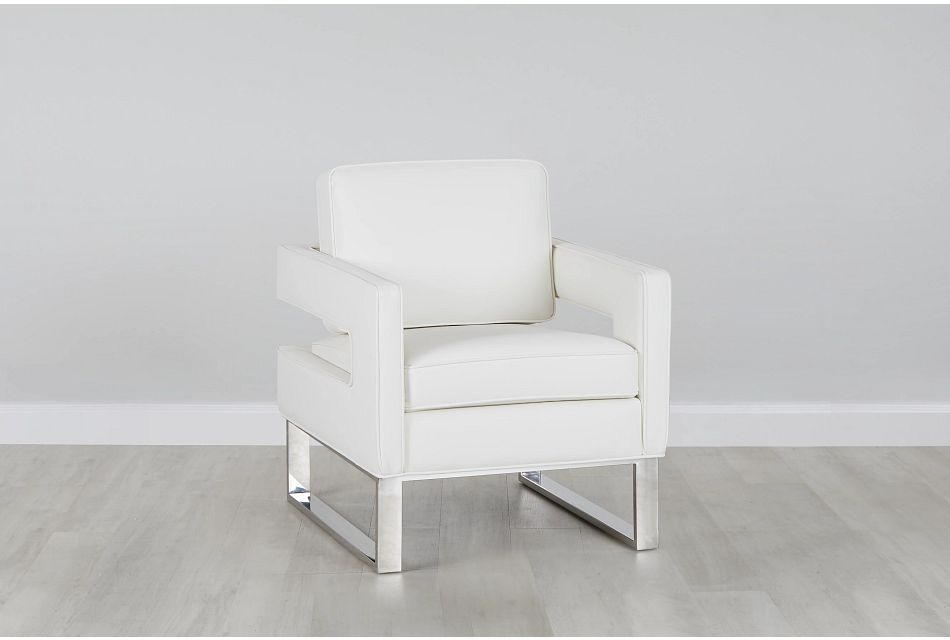 Lana White Micro Accent Chair