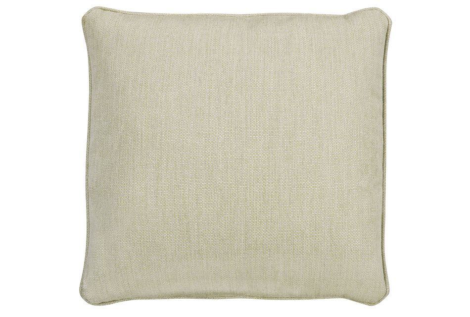 "Moka Light Green  18"" Indoor/Outdoor Accent Pillow,  (0)"