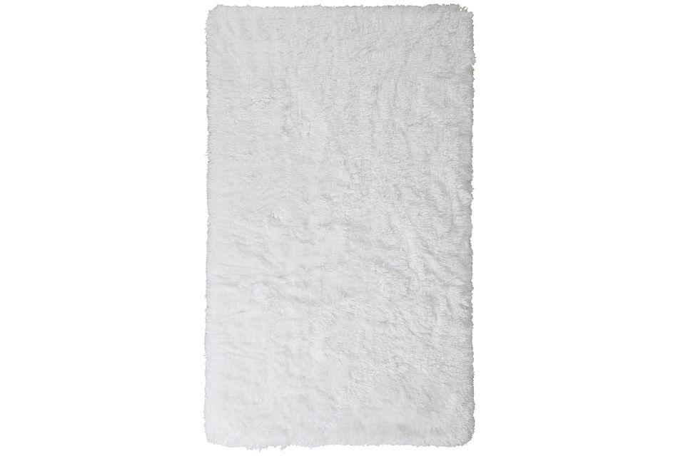 Beckham White 5x8 Area Rug