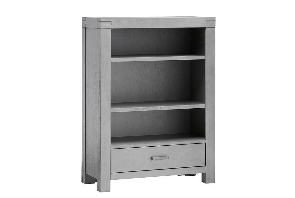 Piermont Gray Bookcase