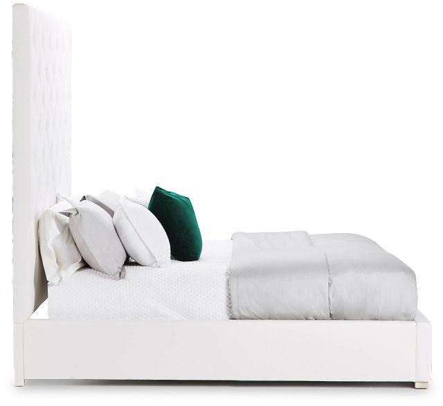 Berlin White Uph Platform Bed (2)