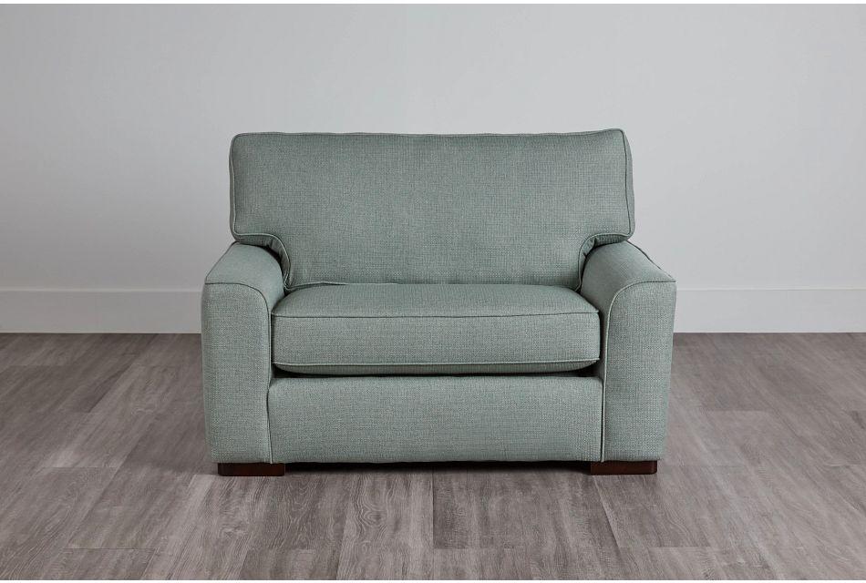 Austin Green Fabric Innerspring Sleeper, Twin (0)