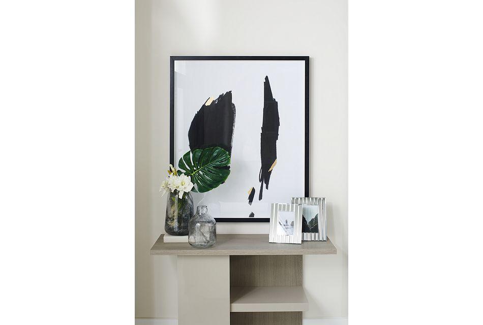 Caelan Light Tone  Sofa Table,  (1)