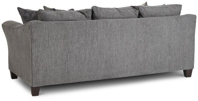 Maggie Dark Gray Fabric Sofa