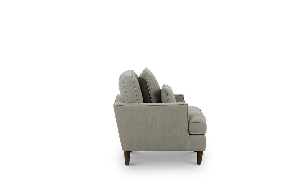 Tori Light Gray Fabric Chair
