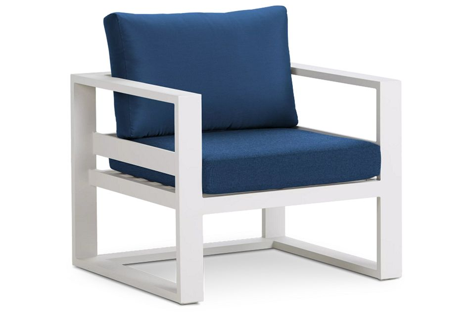 Lisbon Gray Aluminum Chair