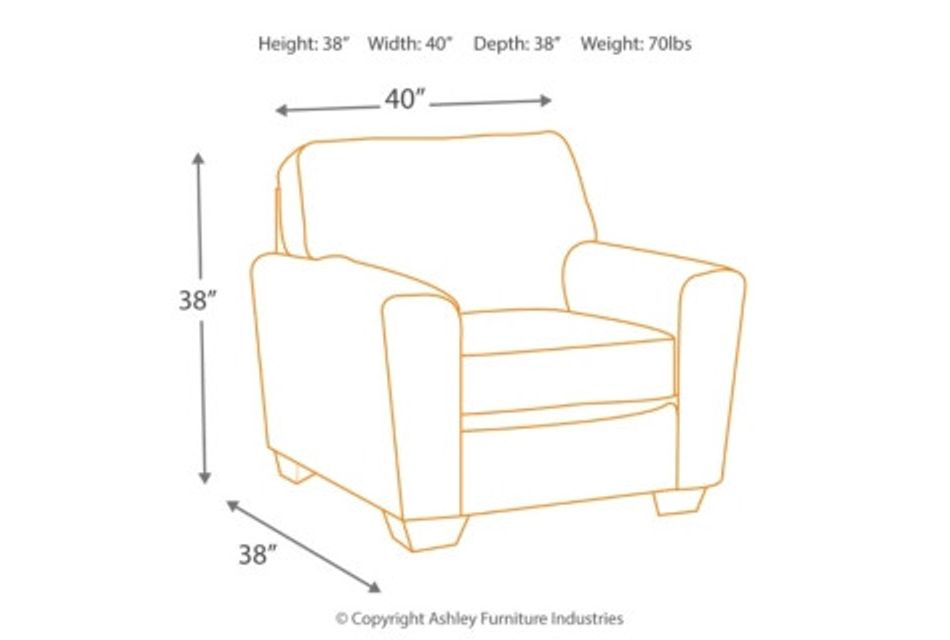 Calicho Dark Taupe Micro Chair