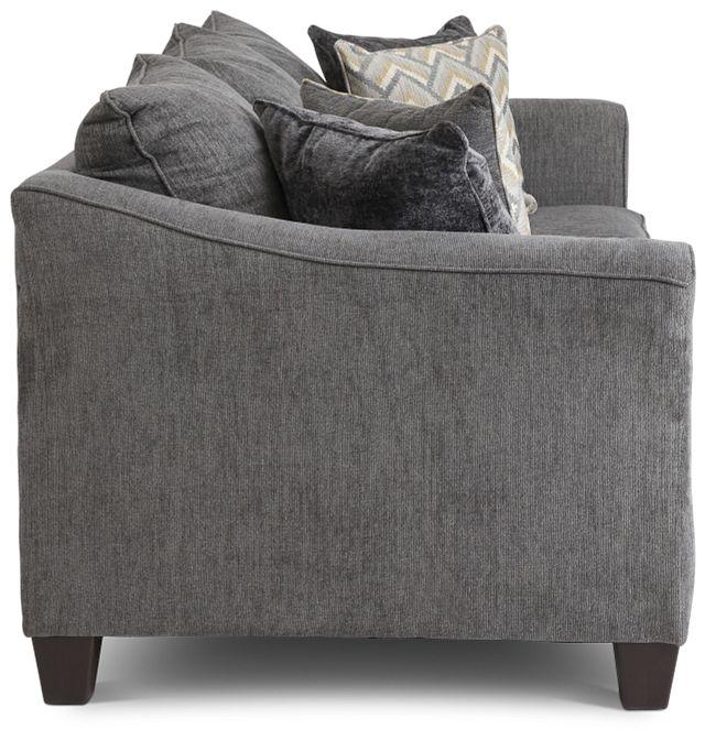 Maggie Dark Gray Fabric Sofa (3)