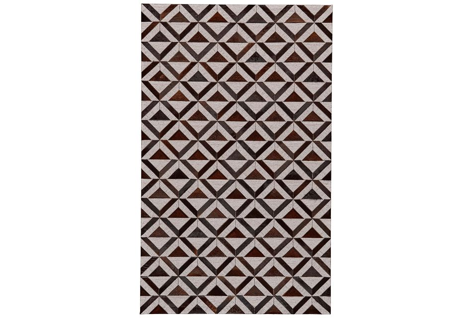 Fabian Dark Gray 5x8 Area Rug