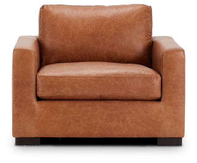 Bohan Brown Leather Chair (3)