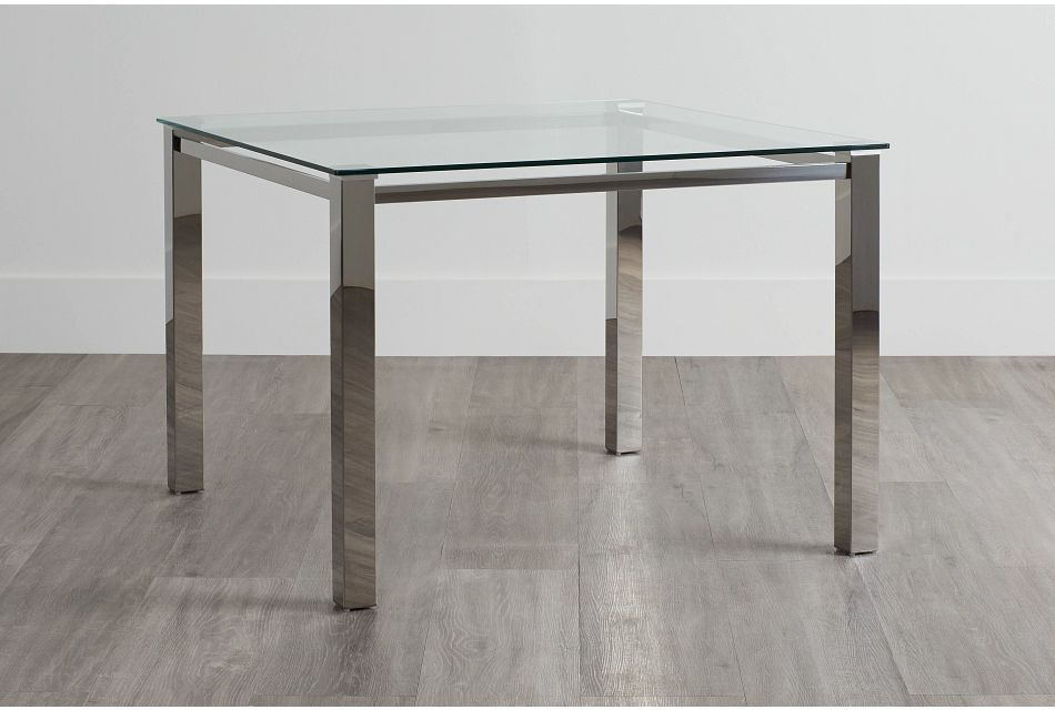 Skyline Glass Square Table