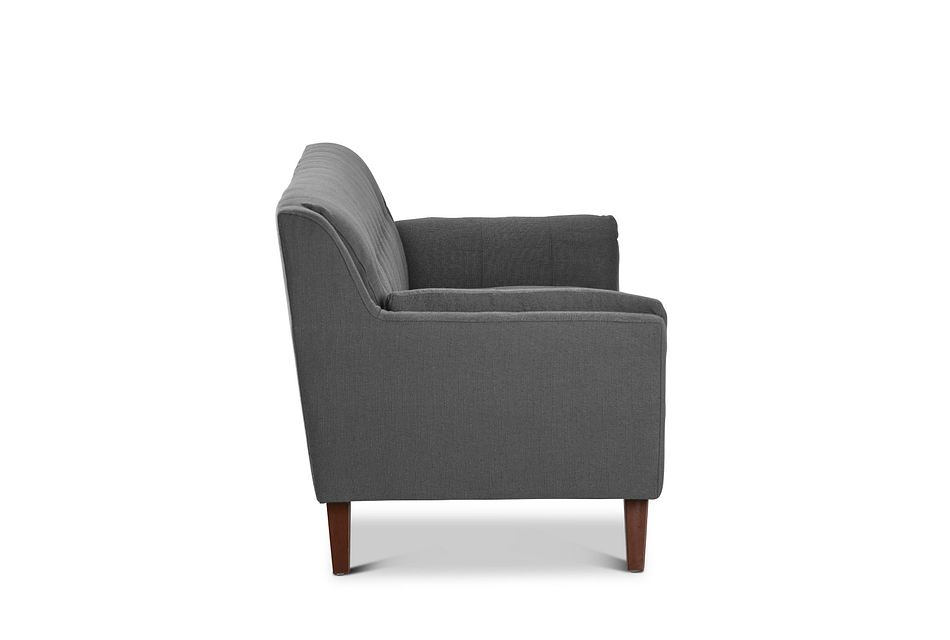 Tahoe Dark Gray Fabric Sofa