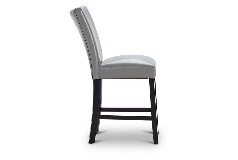 """Auburn Gray 24"""" Upholstered Barstool, %%bed_Size%% (2)"""