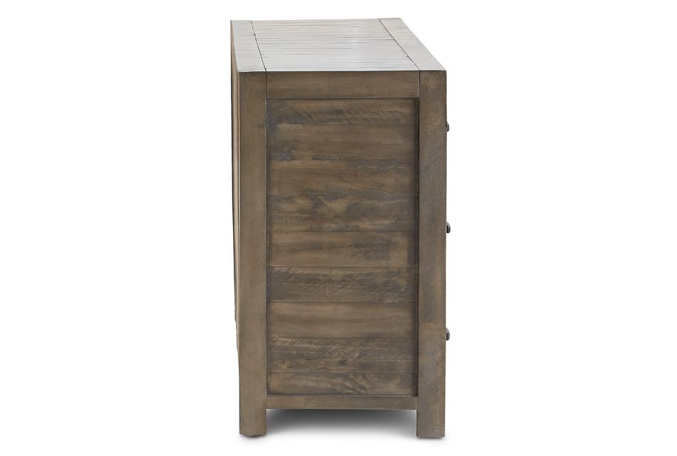 Seattle Gray Wood Dresser