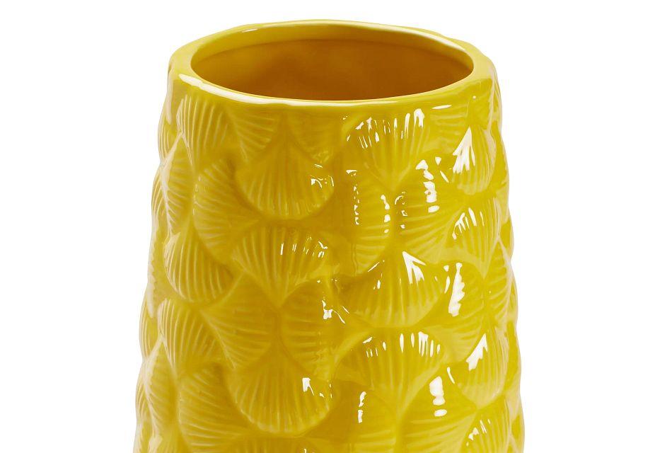 Ridley Yellow Large Vase