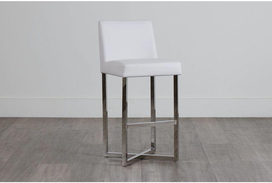 """Howard White 30"""" Upholstered Barstool,  (0)"""