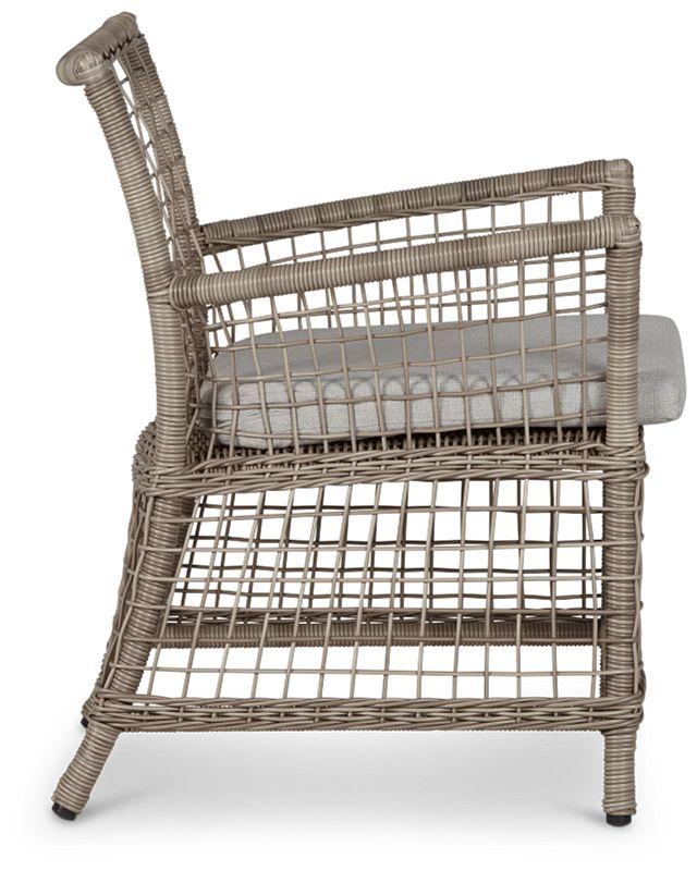 Raleigh Gray Woven Arm Chair (1)