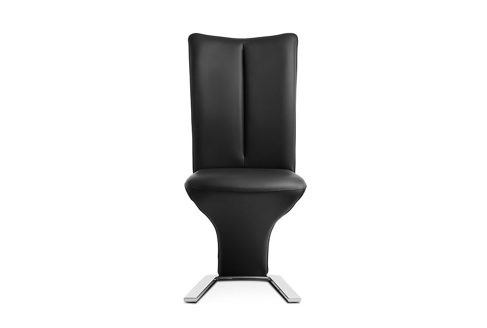 Catalina Black Upholstered Side Chair