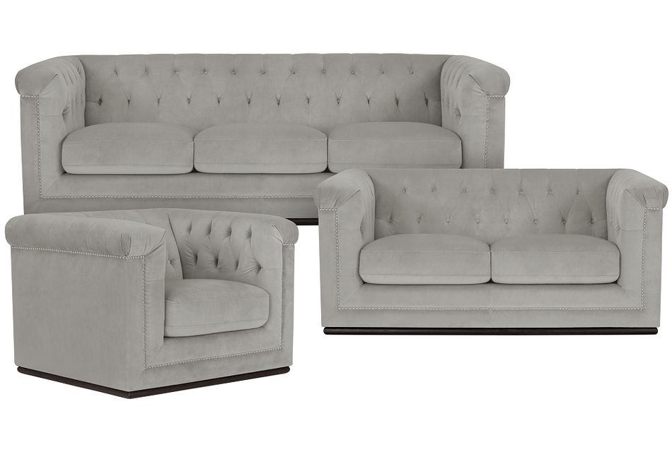 Blair Gray Living Room