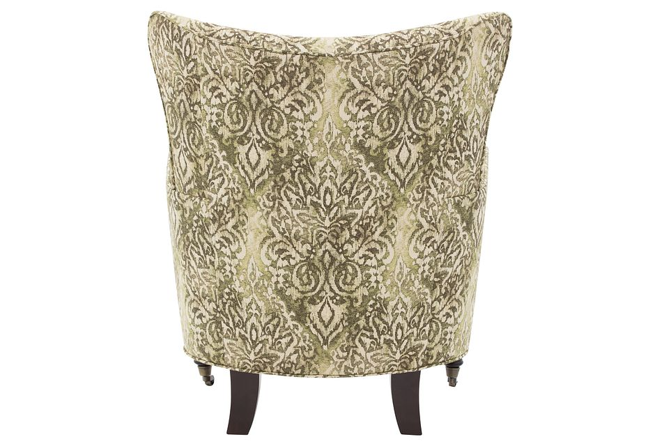 Pravo Green Fabric Accent Chair