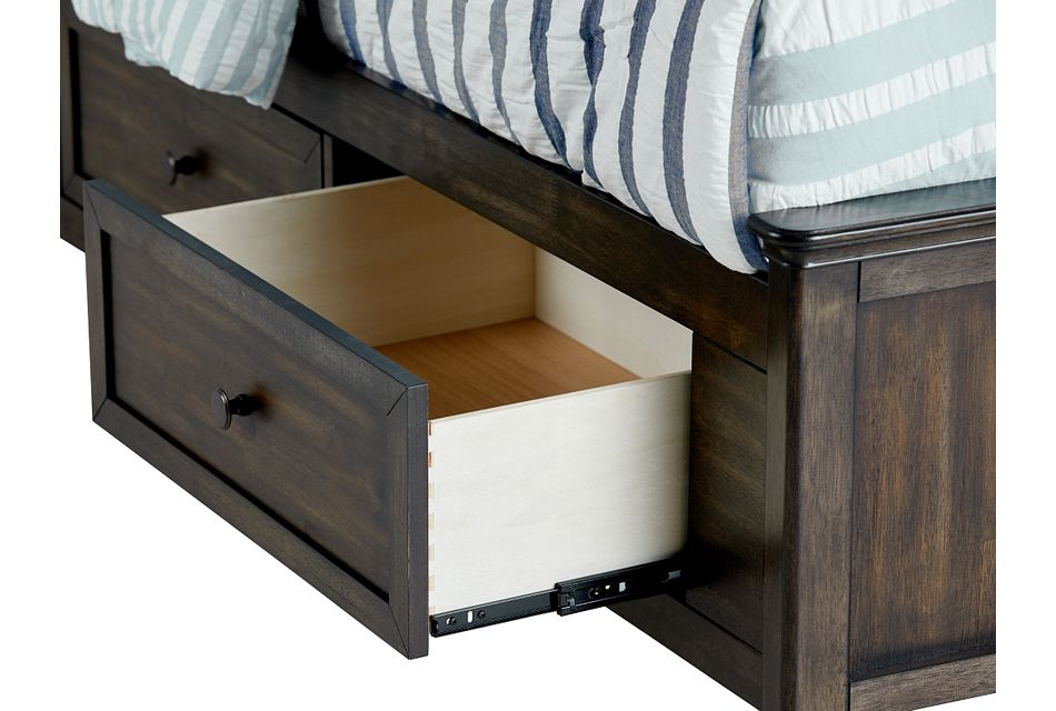 Cooper Dark Tone Panel Storage Bed