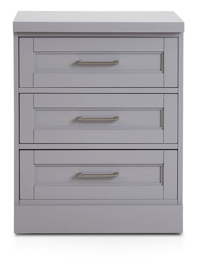 Newport Gray Drawer Cabinet (1)