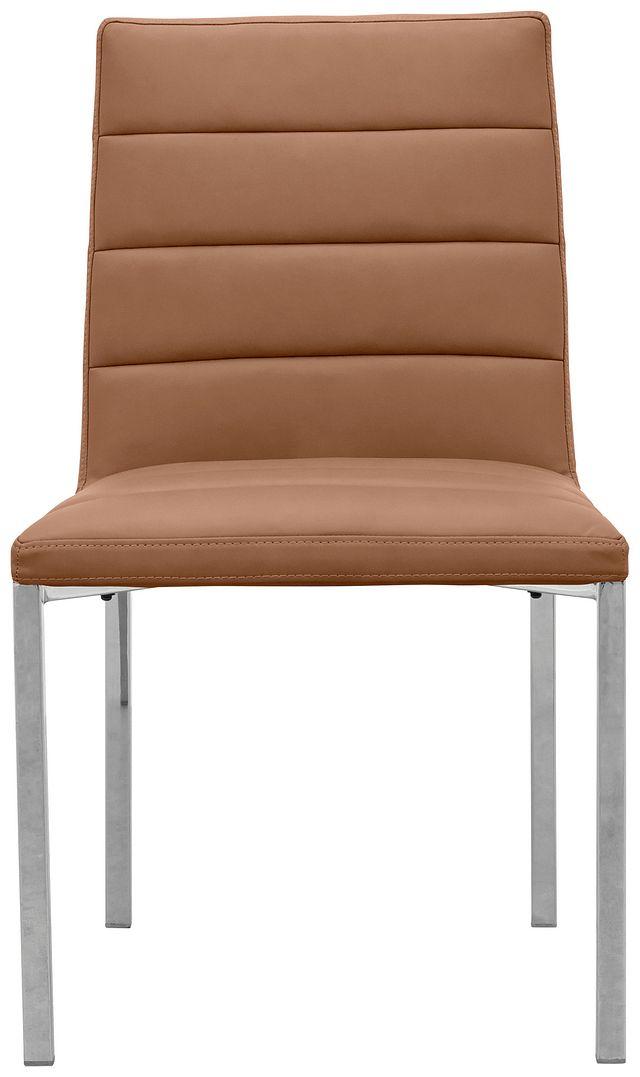 Amalfi Brown Uph Side Chair (1)