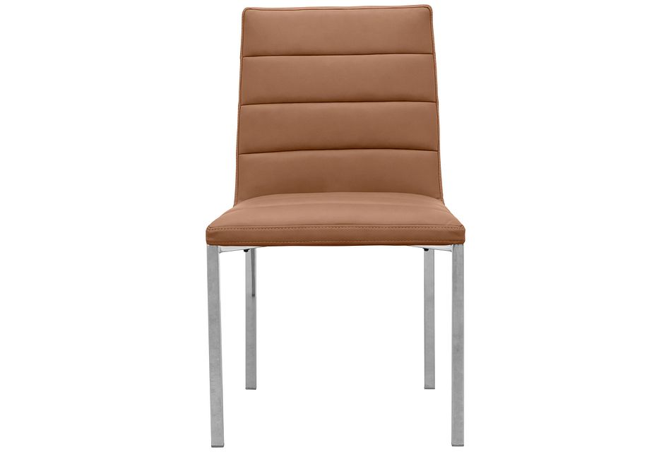 Amalfi Brown Uph Side Chair