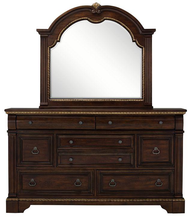 Madrid Dark Tone Dresser & Mirror (0)