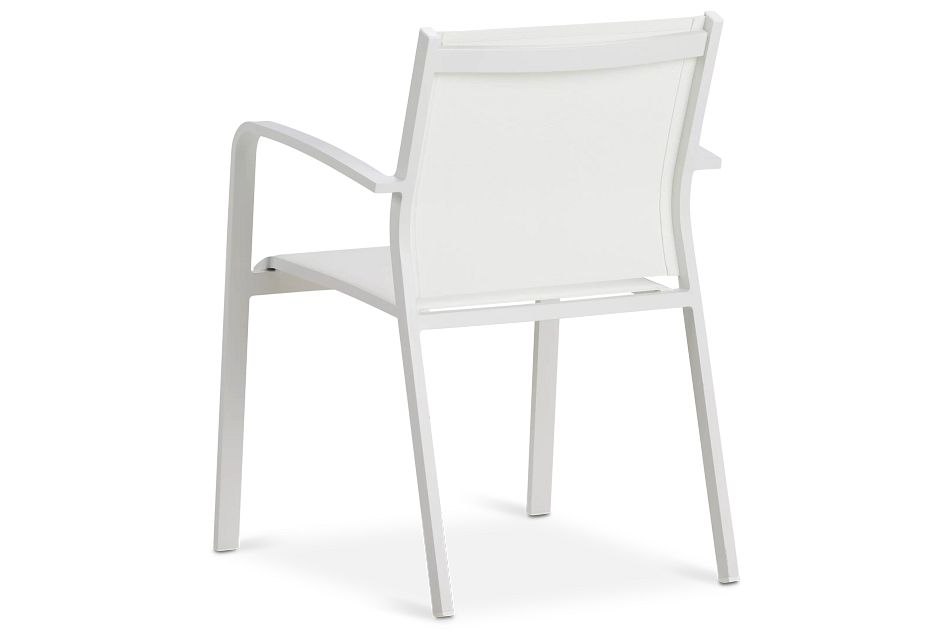 Lisbon White Sling Chair