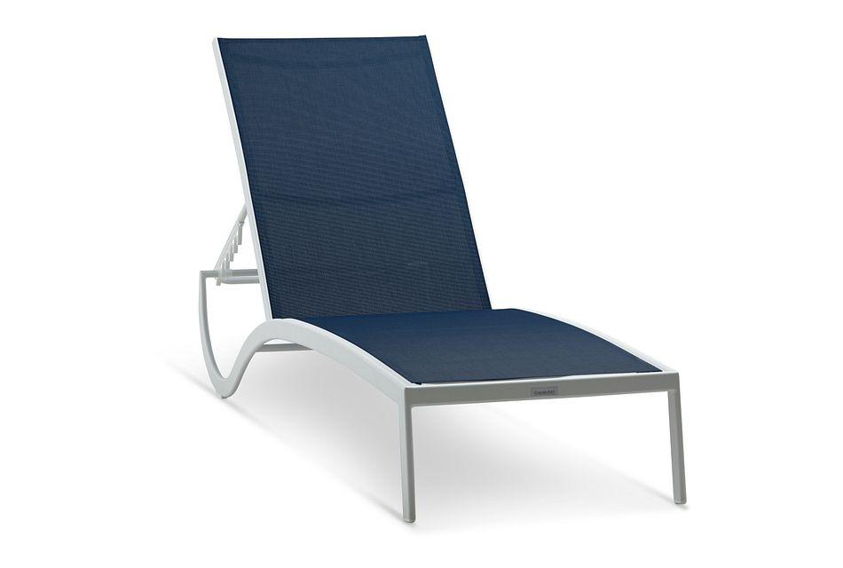 Lisbon Navy Sling Chaise