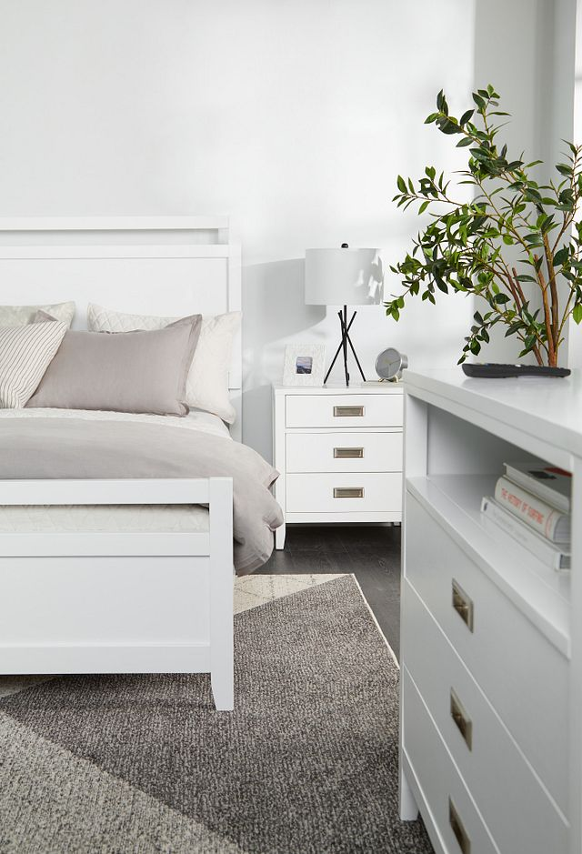 Chatham White Panel Bedroom Package (3)