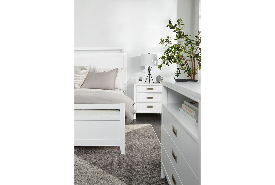 Chatham White Panel Bedroom Package