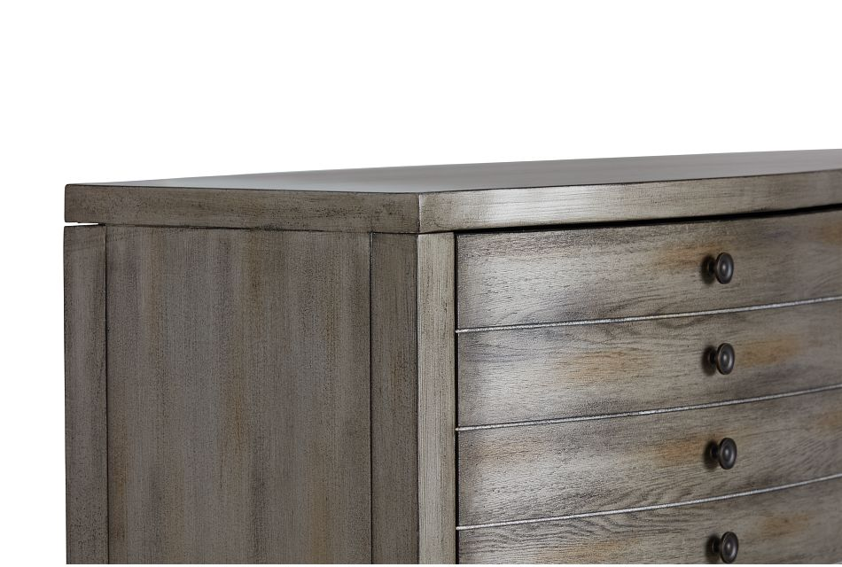 Maylin Gray Two-door Cabinet