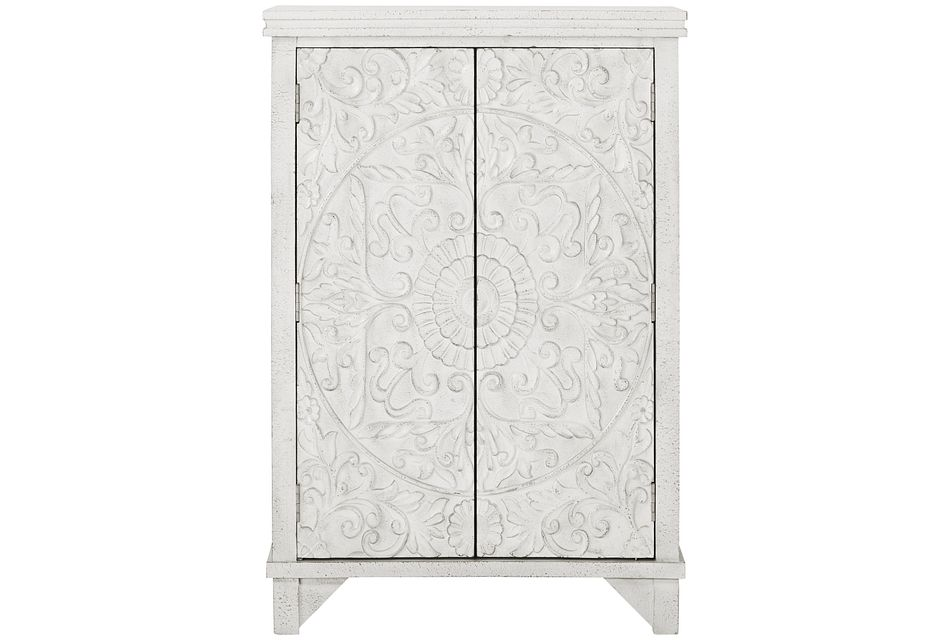 Indra Ivory Two-door Cabinet