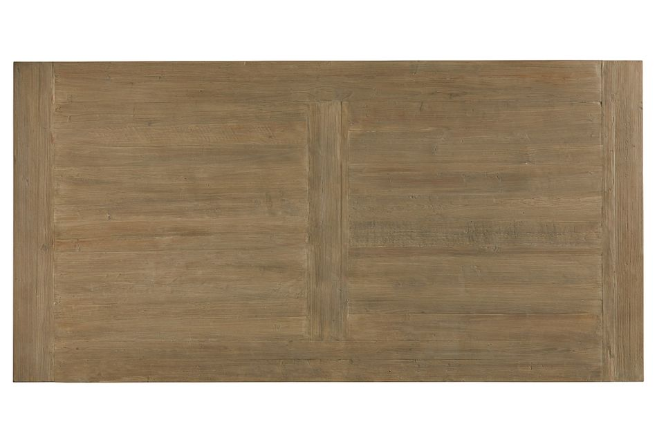 "Hadlow Gray 84"" Rectangular Table"