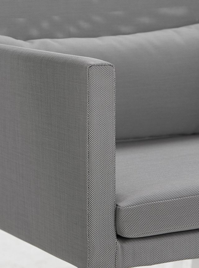 Lisbon Gray Cushioned Chair