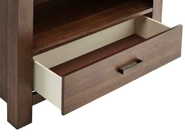 Piermont Mid Tone Bookcase (2)