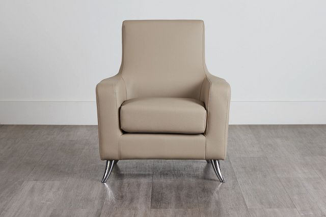 Marquez Taupe Micro Accent Chair (0)