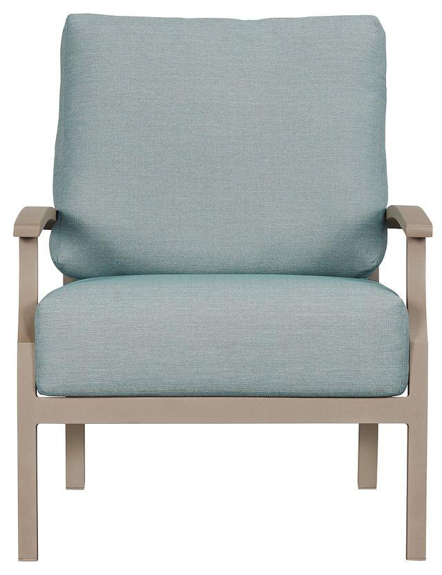 Raleigh Teal Aluminum Chair (1)