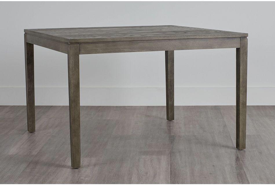 Bravo Dark Tone Square High Dining Table,  (0)