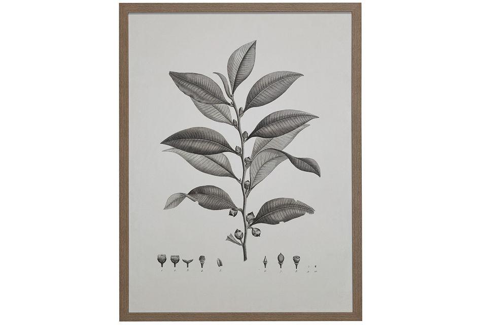 Plantation Gray Framed Wall Art