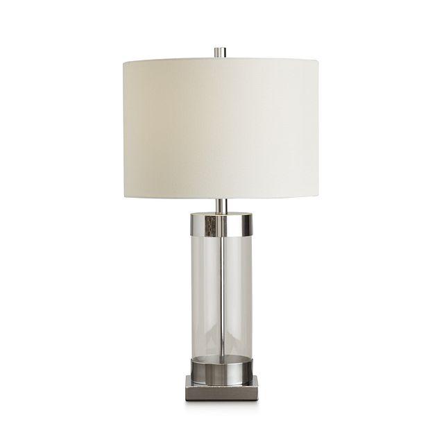 Lucia Chrome Small Table Lamp (2)
