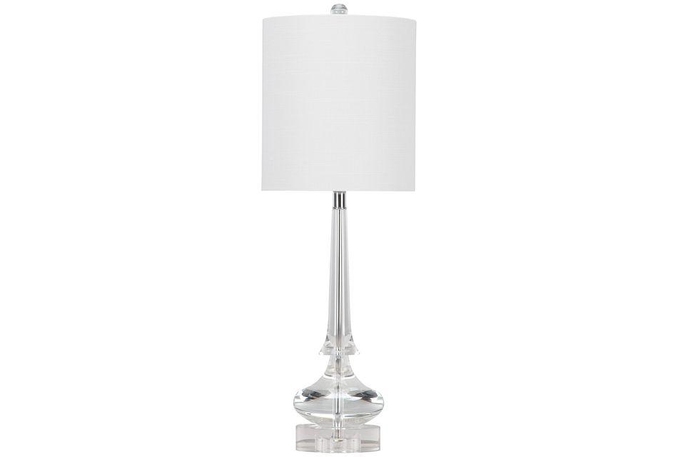 Rivoli Clear  Table Lamp