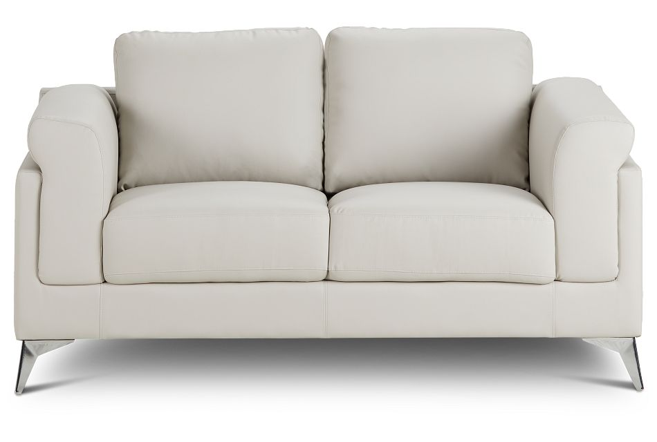 Gianna Gray Micro Loveseat