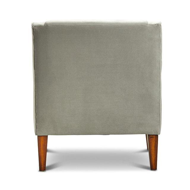 Dawson Light Gray Velvet Accent Chair (3)