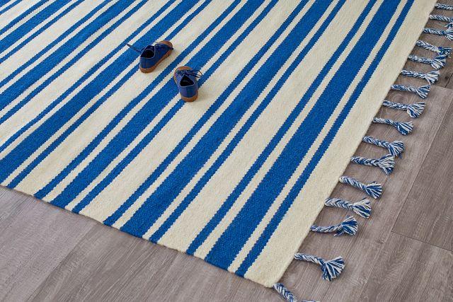 Rio Vista Dark Blue 8x11 Area Rug (1)