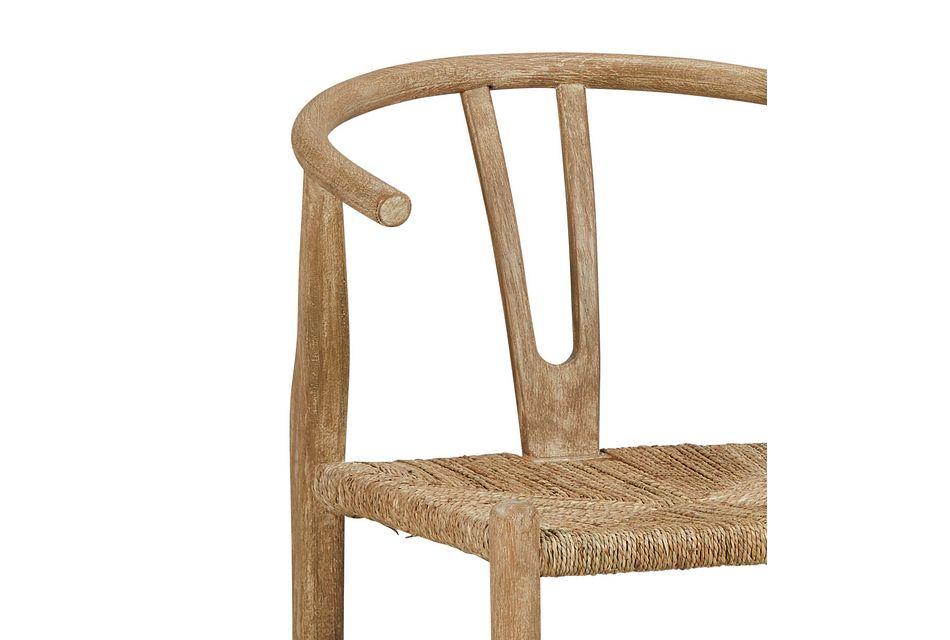 Moya Light Tone Wood Side Chair